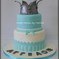 Christening cake for a Little Prince