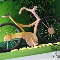 Gumpaste Bicycle