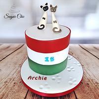 x Siamese Cats Cake x