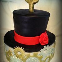 Steam Punk birthday cake