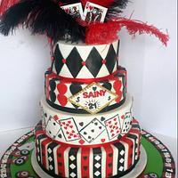 Vegas Casino Cake