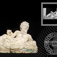 Greco-Roman Statue Challenge TIBER-RIVER GOD