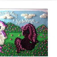 My lil pony cake BC