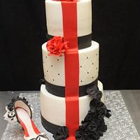 Red Carpet Cake by Sugarpixy