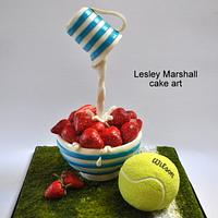 Great britain collaboration - strawberries & cream/tennis