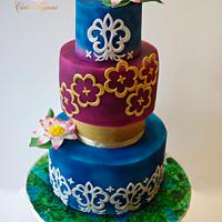 Beautiful Sri Lanka- An International cake collaboration