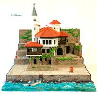 The Palace in Balchik(Bulgaria) or the wonderful world of Queen Maria : Bulgarian cake collaboration