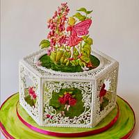 Royal icing Spring Fairy Tale Collaboration