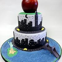Big Apple by Berliosca Cake Boutique