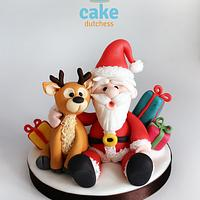 Santa & Reindeer - Advent Calendar collaboration