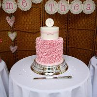 Pink Ruffles for Aimee by Beth Mottershead