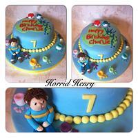 Horrid Henry Cake