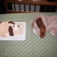 Rufus puppy cake