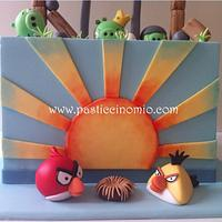 Angry Birds Cake by Pasticcino Mio