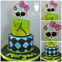 Monster High Theme Cake
