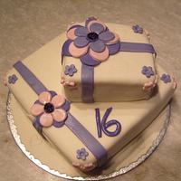 16th Present cake