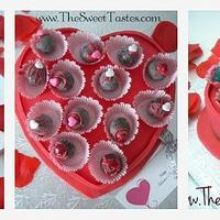 Valentine's day cake 'box'