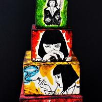 Mia Wallace (Pulp Fiction) - Cake Flix Collaboration