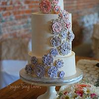 Steampunk 'Light' Wedding Cake