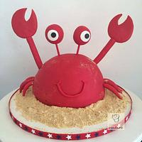 4th of July Crab Cake