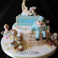 A Nursery Rhyme Children's Cake