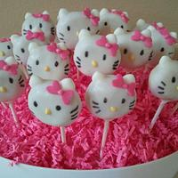 Hello Kitty Cakepops