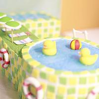 Quack quack Swimming pool