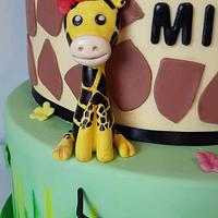 Giraffe toper