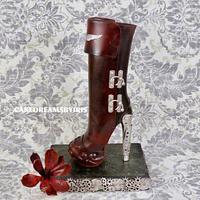 Steampunk Sugar boot