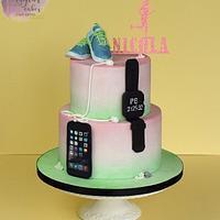 Cake for a runner
