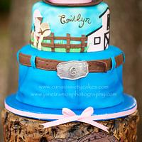 Cowgirl cake by CuriAUSSIEty  Cakes