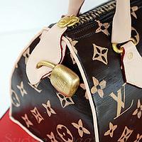 Louis Vuitton Handbag Cake by Angela, SugarSweetCakes&Treats