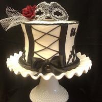 Sweet 16 Corset cake