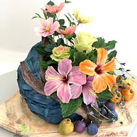 Summer Flowers and fruits
