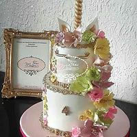 Unicorne birthday cake
