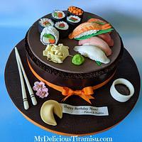 Chocolate Sushi Cake