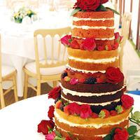 Naaked cake!