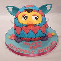 FURBY BOOM SWEET-HEARTS CAKE