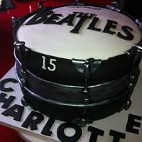 Beatles drum cake :0)