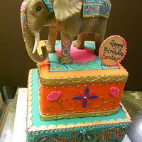 Indian Style Birthday