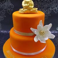 Buddhism cake