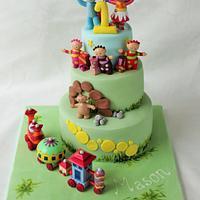 ITNG 3 tier cake