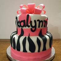 Hot Pink & Zebra