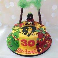 'Marley' 30th Birthday Cake for a mad Marley fan