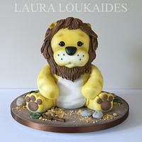 Logan the Toy Lion