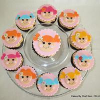 Lalaloopsy cupcakes - easy design