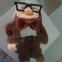 Mr Fredricksen cake