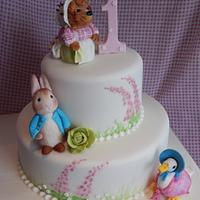 Beatrix Potter 1st Birthday