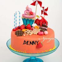Mini Candy Sweets Cake
