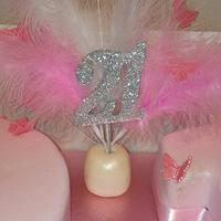 A pink and pretty 21 by Kerry